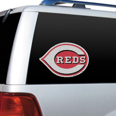 MLB Cincinnati Reds Diecut Window Film