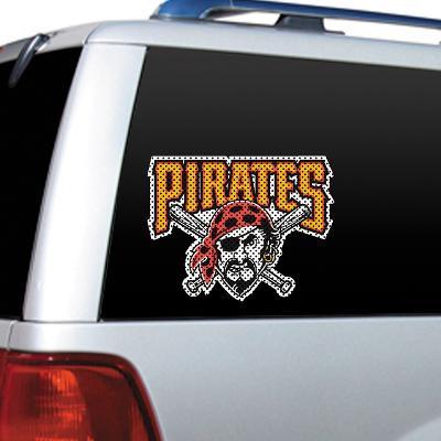 MLB Pittsburgh Pirates Diecut Window Film