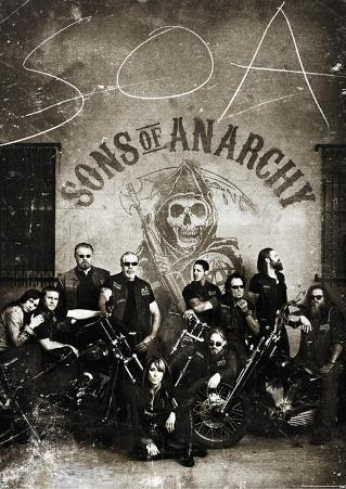 Sons of Anarchy Vintage Huge TV Poster