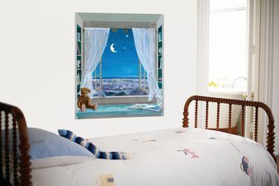 Sweet Dreams Window Huge Mural Art Print Poster