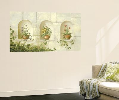 Stone Wall Huge Mural Art Print Poster