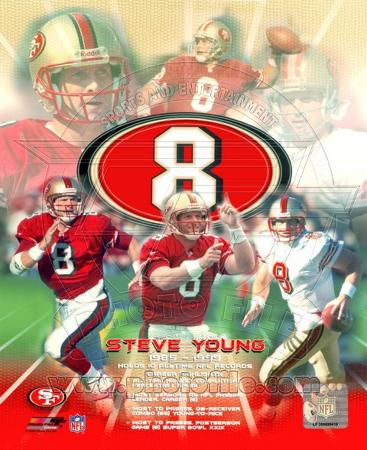 Steve Young - Legends of the Game Composite
