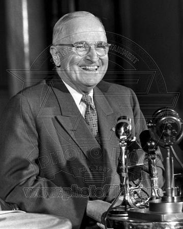 Harry Truman Press Conference, Savoy Hotel, London 1956