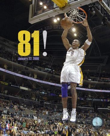NBA Kobe Bryant - Lakers 81 Point Game (1/22/06)