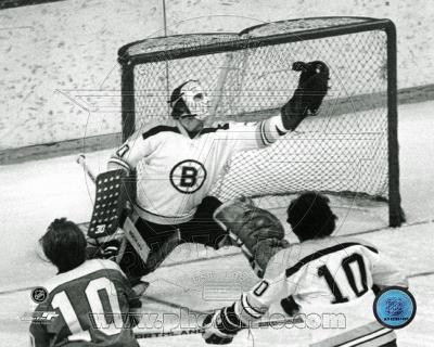 Gerry Cheevers - Black and White / Action