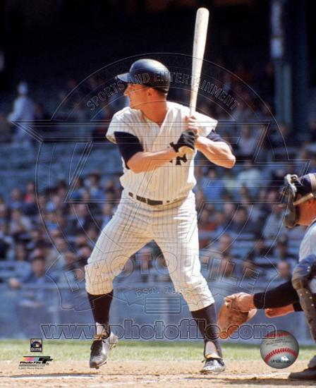 Roger Maris Batting Action Photo At Allposters