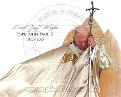 Pope John Paul II 1920 - 2005 (H with Caption)