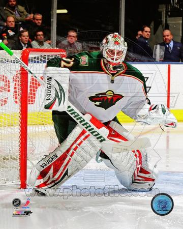 Niklas Backstrom 2011-12 Action