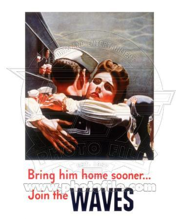 Women Accepted for Volunteer Emergency Service (WAVES) World War Two