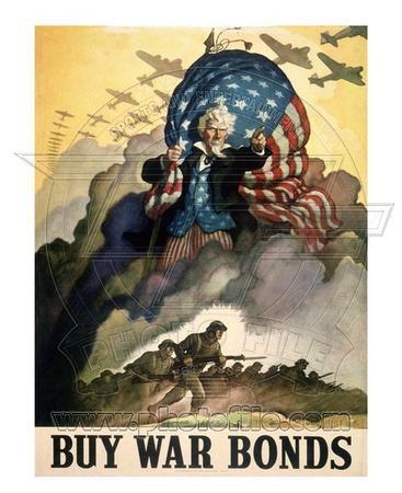 Buy War Bonds World War Two