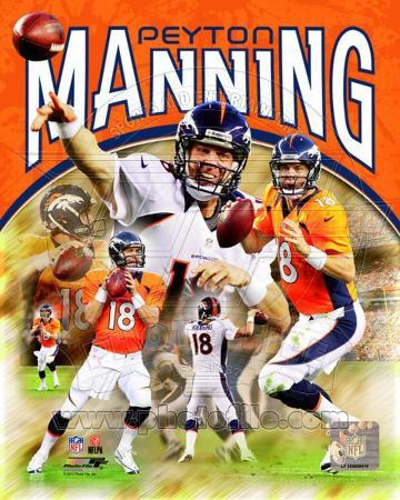 Peyton Manning 2012 Portrait Plus