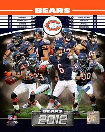 Chicago Bears 2012 Team Composite