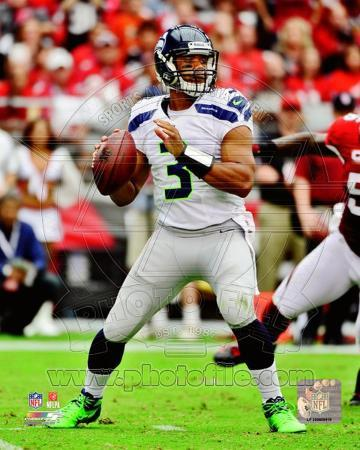 Russell Wilson 2012 Action