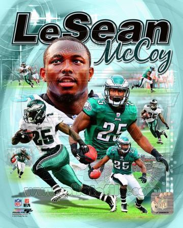 LeSean McCoy 2012 Portrait Plus