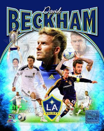 David Beckham 2012 Portrait Plus