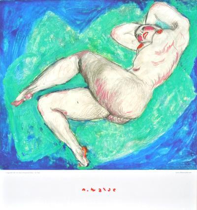 Reclining Nude with Crossed Leg