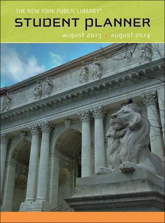 The New York Public Library Student Planner - 2014 Planner