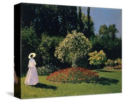 Woman in the Garden, Sainte-Adresse, 1867