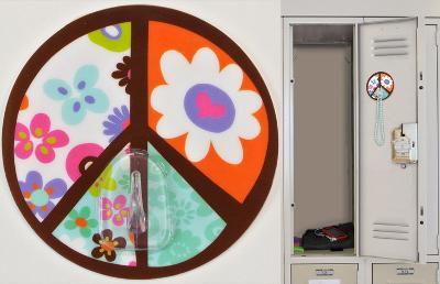 Peace Sign Magic Locker Hook