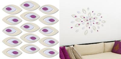 Leaves 3D Foam Wall Decals