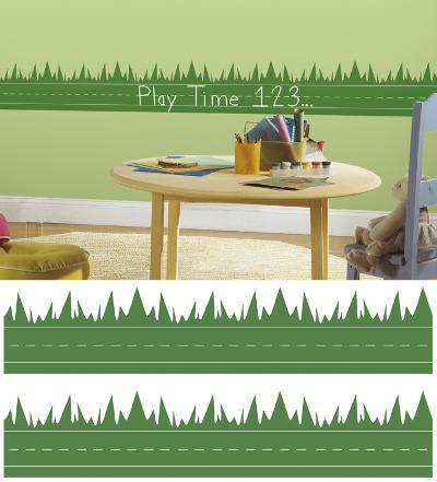 One Décor Learning Lawn Chalk Peel & Stick Wall Decals