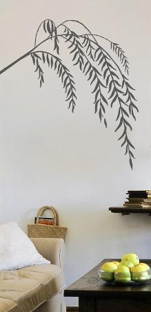 Slender Willow Transfer Wall Decals