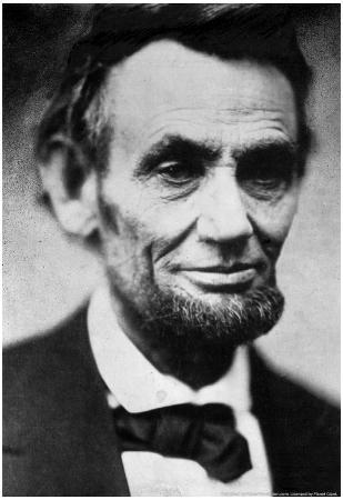 Abraham Lincoln Archival Photo Poster