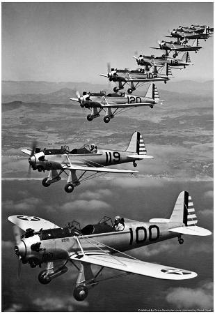 Army Air Trainer PT20 PT20A PT21 Archival Photo Poster