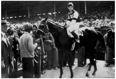 Assault Horse Racing Archival Photo Poster