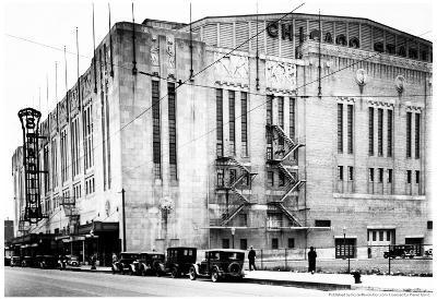 Chicago Stadium Archival Photo Poster