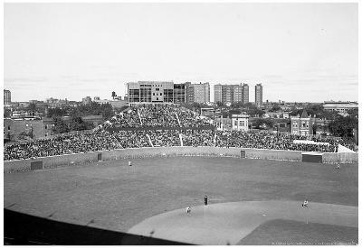 1930 Wrigley Field Construction Archival Photo Poster