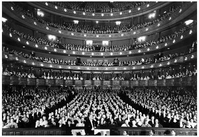 Metropolitan Opera New York City 1940 Archival Photo Poster
