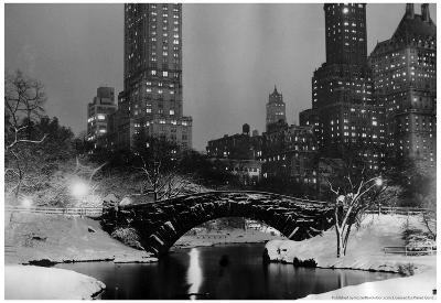 Central Park New York 1953 Archival Photo Poster