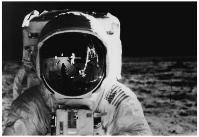 Apollo 11 Moon Landing 1969 Archival Photo Poster