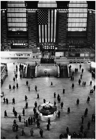 Grand Central Station 1969 Archival Photo Poster
