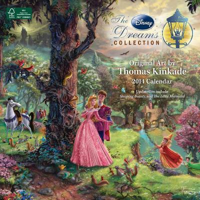 Thomas Kinkade: The Disney Dreams Collection - 2014 Calendar