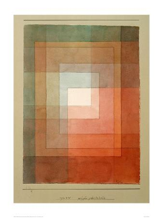 White Framed Polyphonically