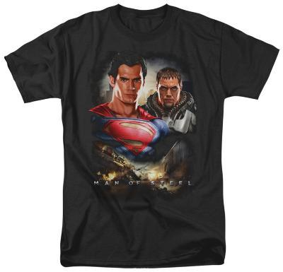 Man of Steel - Kal El And Zod