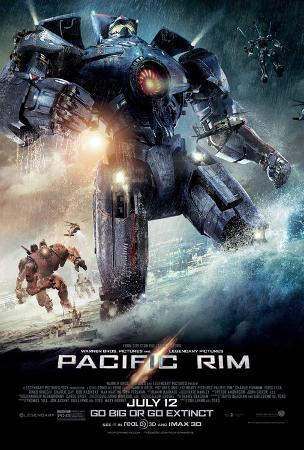 Pacific Rim Double Sided Movie Poster