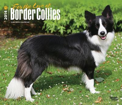 For the Love of Border Collies - 2014 Deluxe Calendar