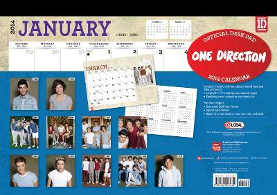 One Direction - 2014 Desk Pad