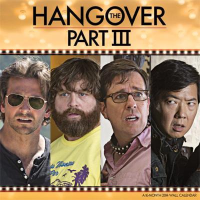 The Hangover III - 2014 Calendar
