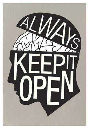 Always Keep It Open Poster