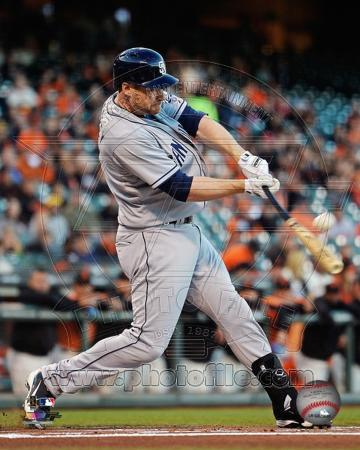 Chase Headley 2013 Action