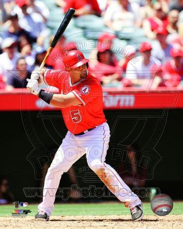 Albert Pujols 2013 Action