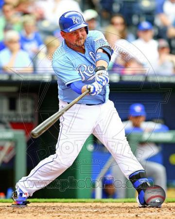 Billy Butler 2013 Action