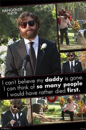 The Hangover III - Funeral Movie Poster