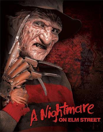Nightmare on Elm Street Freddy Krueger Movie Tin Sign
