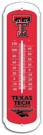 NCAA Texas Tech Red Raiders Outdoor Thermometer