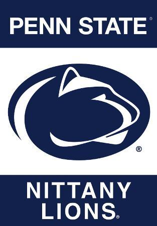 NCAA Penn State Nittany Lions 2-Sided Banner With Pole Sleeve